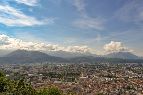 A photo of Grenoble, France by IdentityX Ambassador David Rich.