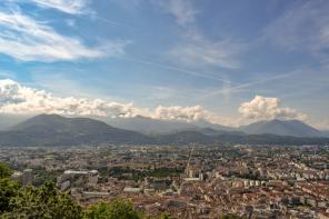 A photo of Grenoble, France by IdentityX Ambassador David Rich.