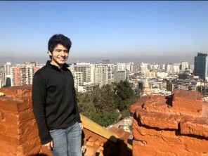 IdentityX Ambassador Enriko Chavez in Santiago, Chile.