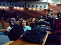 The Optics team and I at the Physics Conference (SAIP) in Bloemfontein (#LAZERGANG)